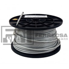 CABLE DE ACERO 3/8 ROLLO 76MTS 213509