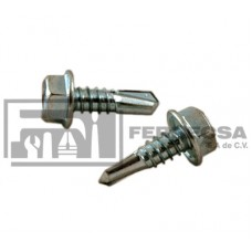 TORNILLO C/HEXAGONAL P/BROCA 14X1 (20)