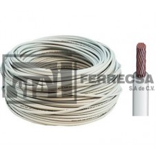 CABLE THW 10 BLANCO ARGOS (100) ROLLO