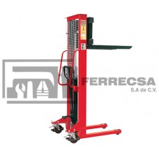MONTACARGAS HIDRAULICO MANUAL 1 TON 1.60MTR MIKELS MH-1000