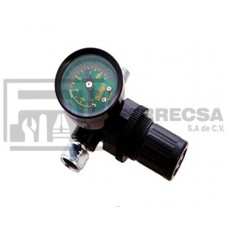 REGULADOR CON MANOMETRO P/TANQUE DE 9 LTR 297
