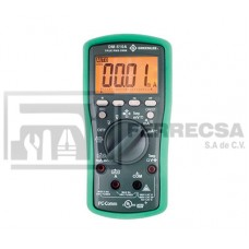 MULTIMETRO DIGITAL 08742 DM-510A GREENLEE*
