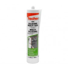 SILICON MULTIUSOS ANTI-HONGOS 280ML. FISCHER (24)618607