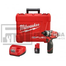 DESTORNILLADOR COMPACTO M12 FUEL MILWAUKEE 2402-22*