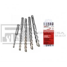 KIT BROCAS SDS-PLUS 5 PZA 3/16