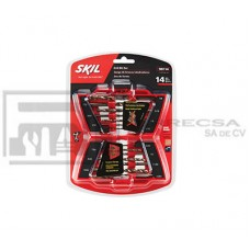 KIT BROCAS P/METAL 14PZA 2610006040 SKIL*