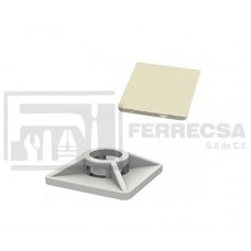 BASE PARA CINTURONES  27 X 27 MM INDEX (100) BBANA27
