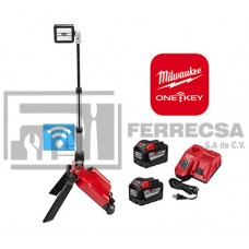 LAMPARA DE PISO DUAL LED M18 ONE-KEY 2120-22HD MILWAUKEE*