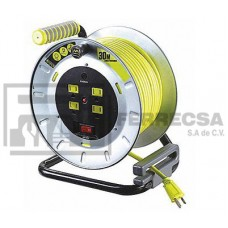 EXTENSION C/MULTICONTACTO 30M 14AWG LUCECO OTMM301114G4SL-MX